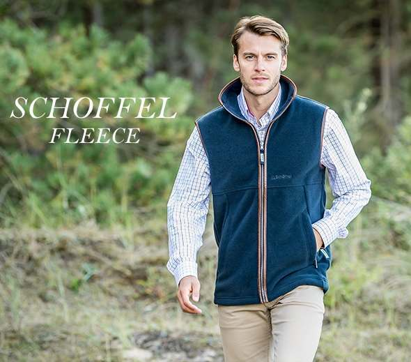 Schoffel Men's Fleece Gilets and Jackets