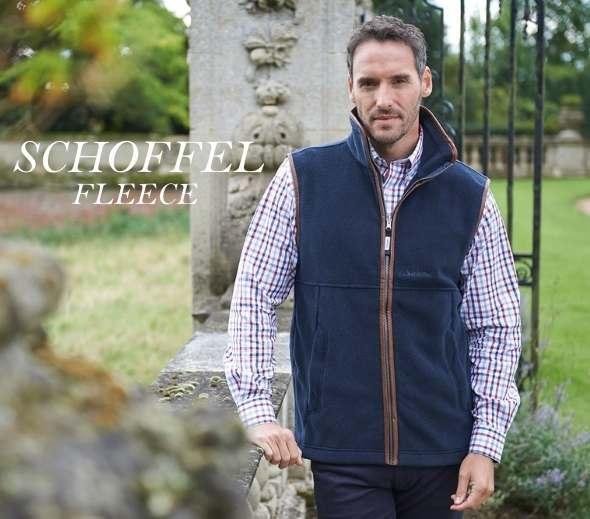 Schoffel Men's Fleece Collection