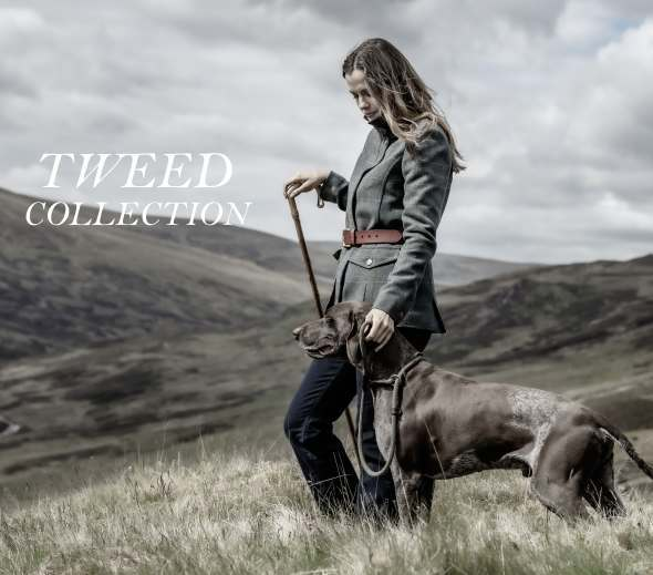 Women's Tweed Clothing Collection