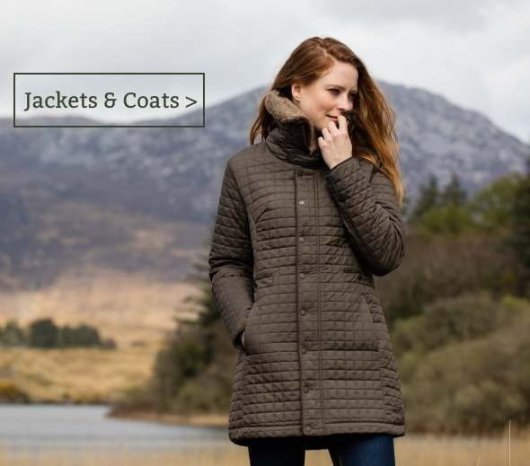 Women's country jackets and coats
