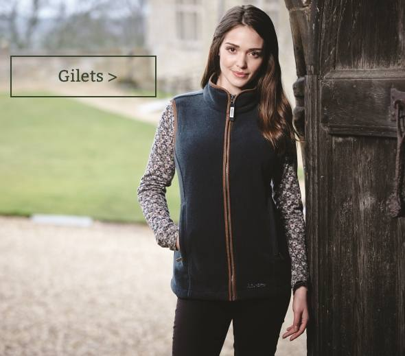 Women's country gilets