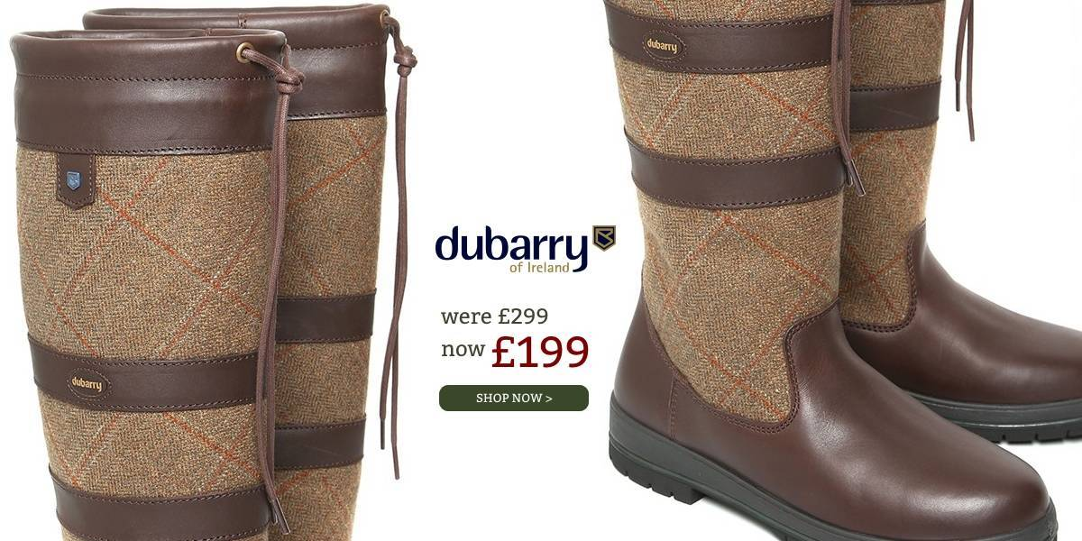 Dubarry Boots with £100 off
